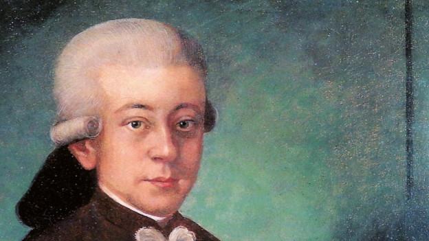Gemälde von Mozart.