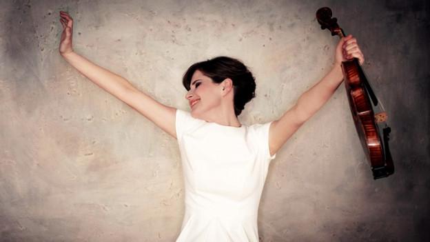Steckt das Orchester an mit ihrer Leidenschaft: Lisa Batiashvili