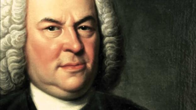 Bach mit Perücke.