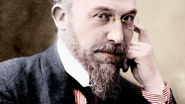 Porträt des Komponisten Erik Satie