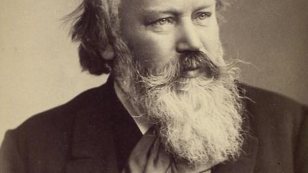 Johannes Brahms im Porträt.