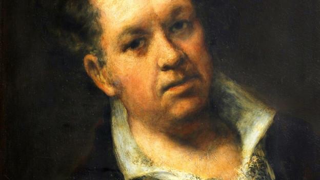 Selbstporträt von Francisco de Goya