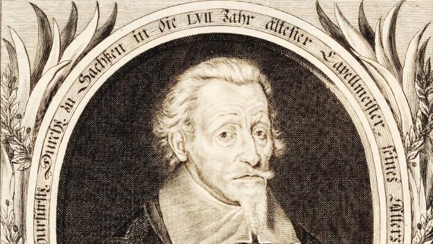 Gemälde von Heinrich Schütz.