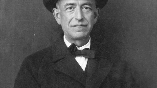 Porträt des Komponisten Manuel de Falla.