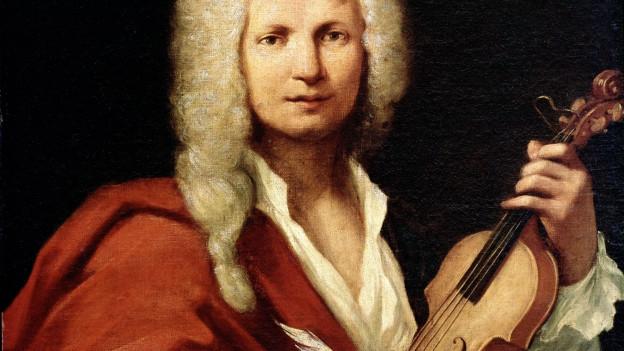 Porträt von Antonio Vivaldi.