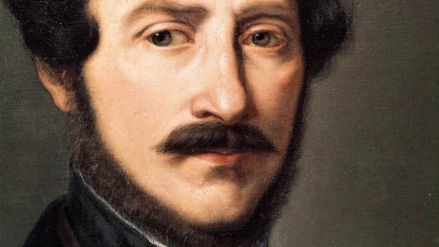 Ein Porträt von Gaëtano Donizetti
