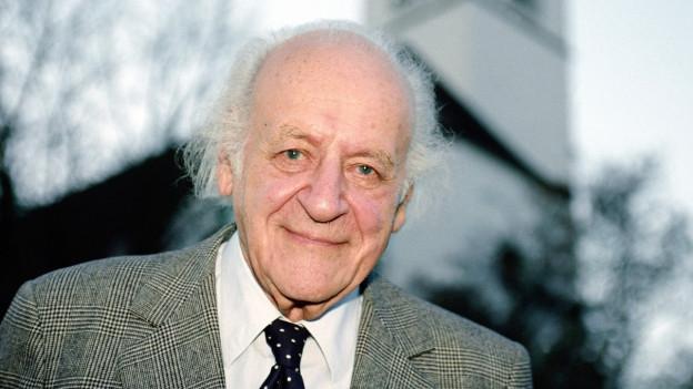 Ein Porträt von Rolf Liebermann.