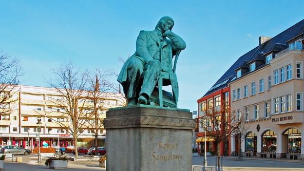 Robert Schumann-Denkmal in Zwickau.