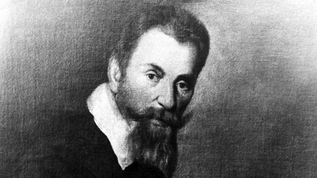 Historischer Druck von Claudio Monteverdi