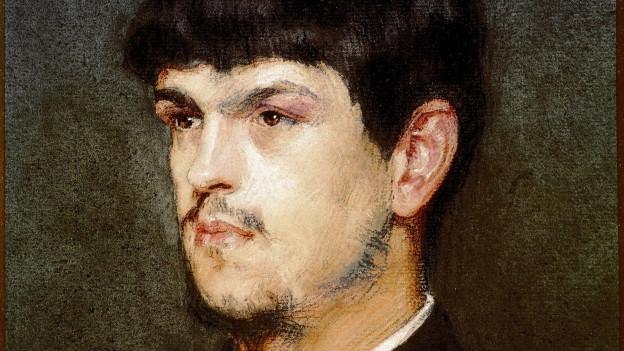 Portraitzeichnung von Claude Debussy