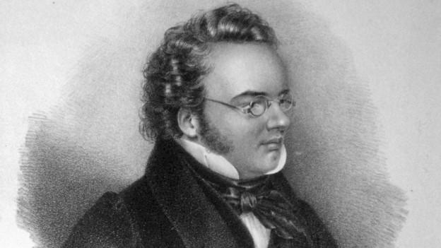 Lithographie von Franz Schubert