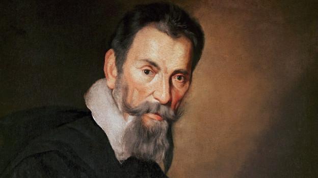 Historisches Porträt von Claudio Monteverdi