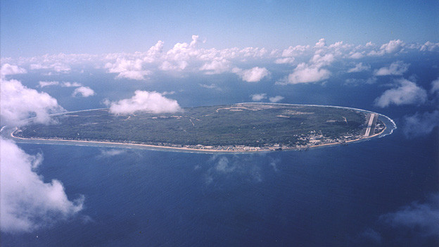 Der Inselstaat Narau liegt im Pazifischen Ozean 2900 Kilometer nordöstlich von Australien.