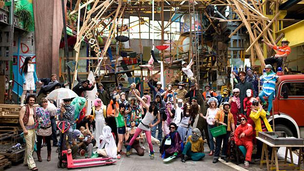Die ehemalige Druckerei «Binz» dient hunderten von Menschen als Werkstätte für Kultur.