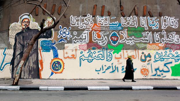 Die ägyptische Alternativkultur findet unter anderem in Form von Graffiti ihren Ausdruck.