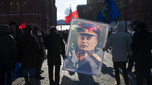 Wird auch 60 Jahre nach seinem Tod noch verehrt: der ehemalige sowjetische Diktator Josef Stalin