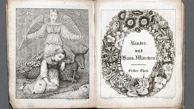 Der Beginn einer Erfolgsgeschichte: Kinder- und Hausmärchen der Gebrüder Grimm von 1813.