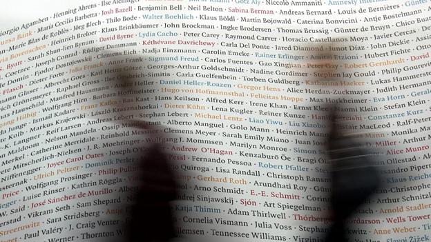 Die Leipziger Buchmesse geht vom 14. bis 17. März 2013 über die Bühne.