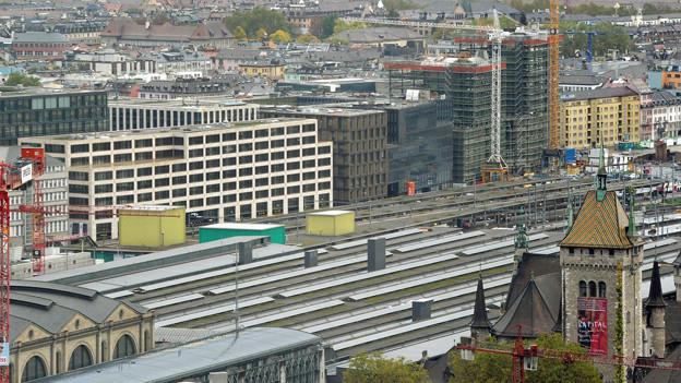 An der Europaallee in Zürich soll ein «Warenhaus der Kultur» entstehen.