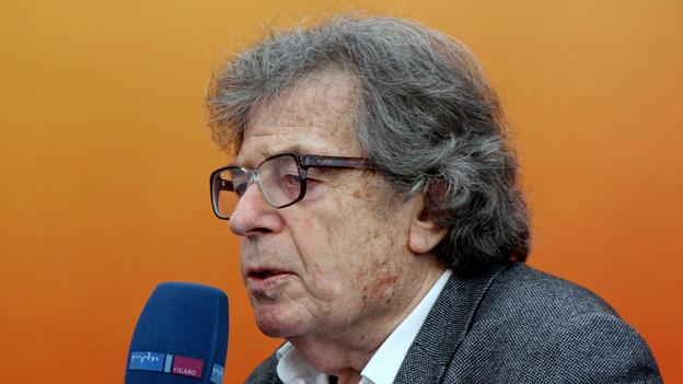 György Konrad an der Leipziger Buchmesse 2013.