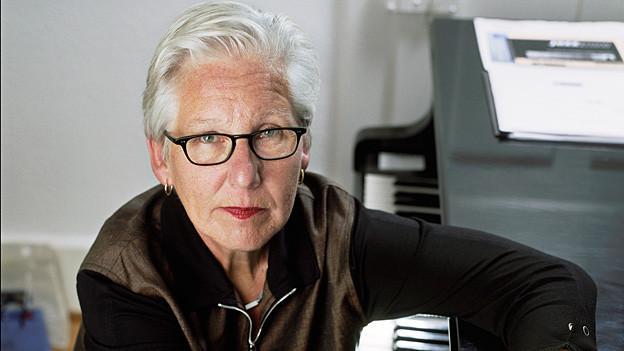 Die Schweizer Pianistin und Schlagzeugerin Irène Schweizer ist eine Begründerin des europäischen Free Jazz.
