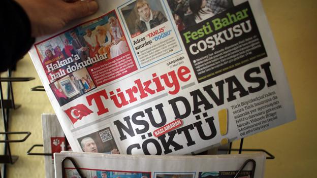 Der NSU-Prozess schlägt in den türkischen Medien hohe Wellen.