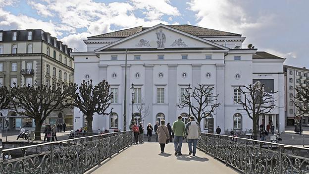 Hat vielleicht bald ausgedient: das Luzerner Theater an der Reuss.