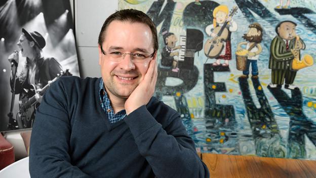 Übernimmt 2013 erstmals die Leitung des Montreux Jazz Festivals: Mathieu Jaton