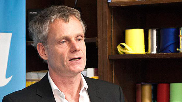 Dirk Vaihinger ist der Leiter des Verlags Nagel & Kimche.