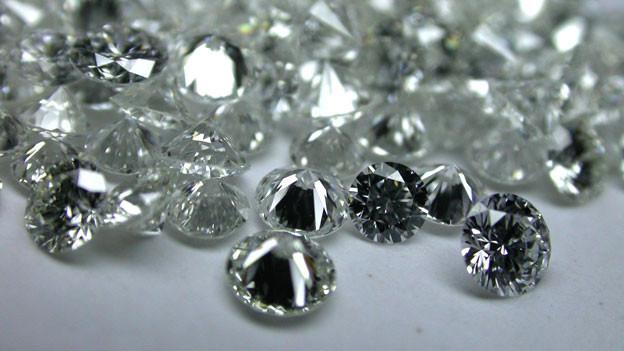 Werden an der Basel World heiss gehandelt: Diamanten.