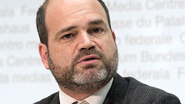 Der Genfer Kulturdirektor Sami Kanaan.
