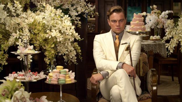 Leonardo Di Caprio als der grosse Gatsby.
