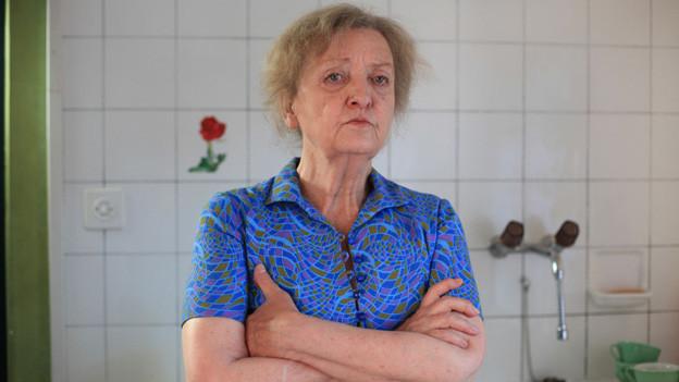 Sibylle Brunner als Rosie.