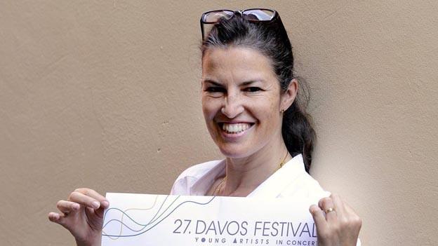 Graziella Contratto ist seit 2007 Intendantin des Davos Festivals.