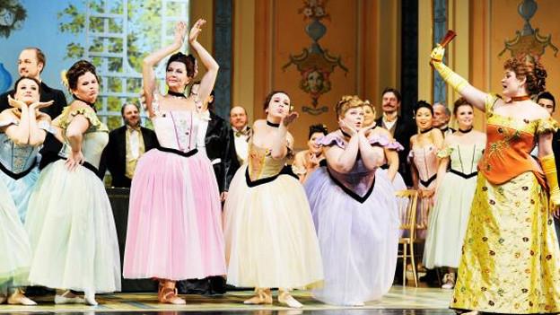 «Die Fledermaus» gilt als Höhepunkt der Goldenen Operettenära.