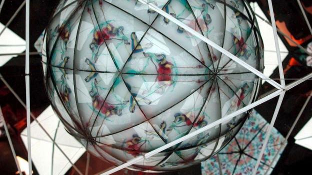 Abbild von einem Kaleidoskop