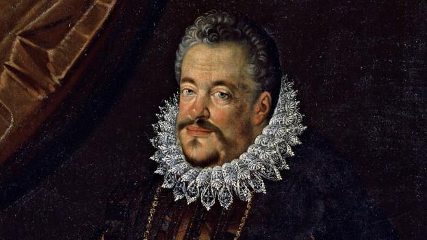 Historisches Porträt von Ferdinando I de Medici