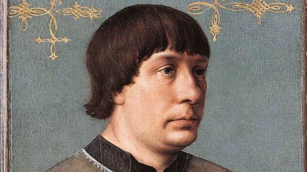 Historisches Porträt von Jacob Obrecht