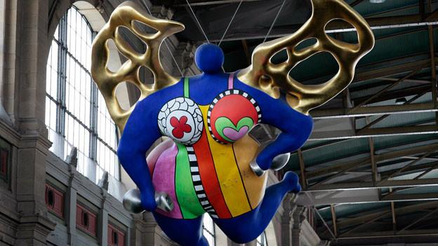Der Engel von Niki de Saint Phalle