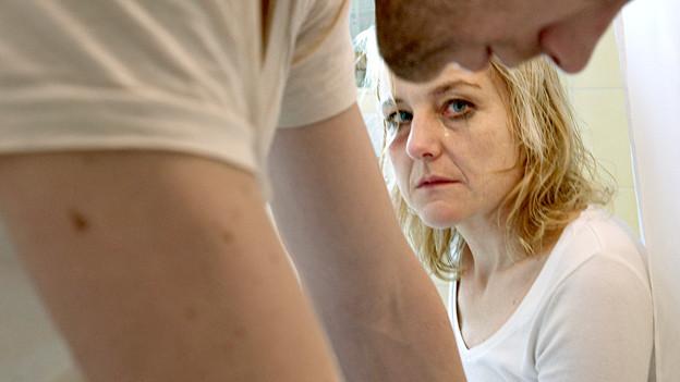 «Häusliche Gewalt» ist ein grosses Thema in der Schweiz.