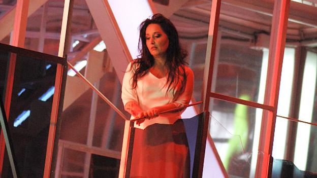 Jane Archibald als Lucia in «Lucia di Lammermoor» am Opernhaus Zürich.