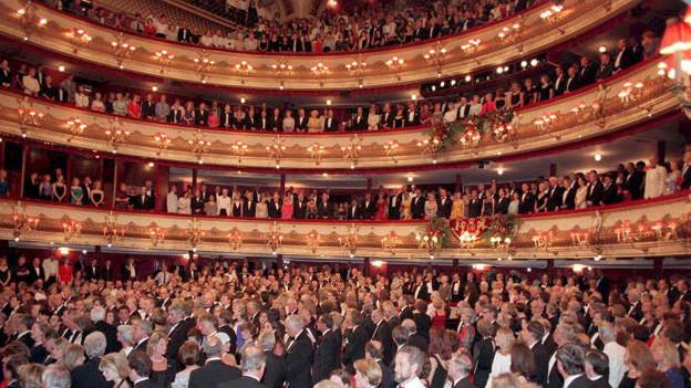 Sehen und gesehen werden: Royal Opera House in London.