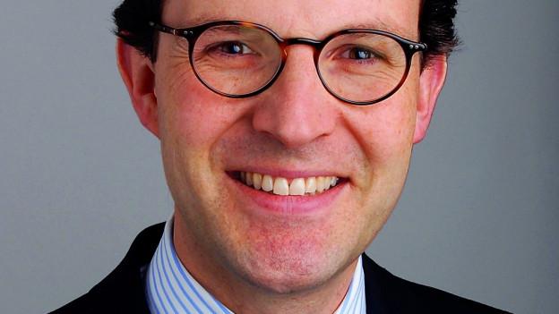 Porträt von Christoph A. Schaltegger.