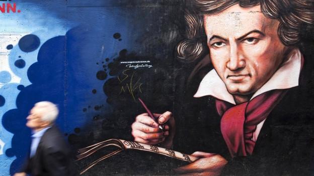 Beethoven Streetart