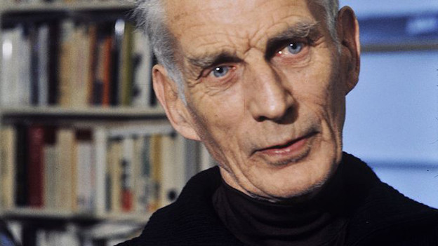 Seine Haikus dienten als Grundlage: Samuel Beckett.