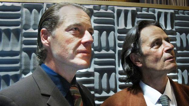 Oliver Sauer in der Rolle des «Sam» (links), Till Kretzschmar als «Peter» (rechts).