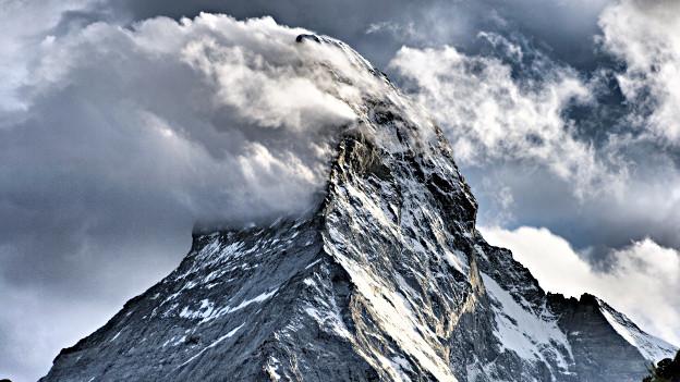 Das Matterhorn: Beat Sterchi setzt dem Schweizer Wahrzeichen ein Denkmal.