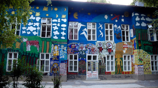 Das Haus der Künstler.