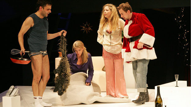 Szenenbild aus einem älteren Theaterstück des Regisseurs Andreas Sauter.