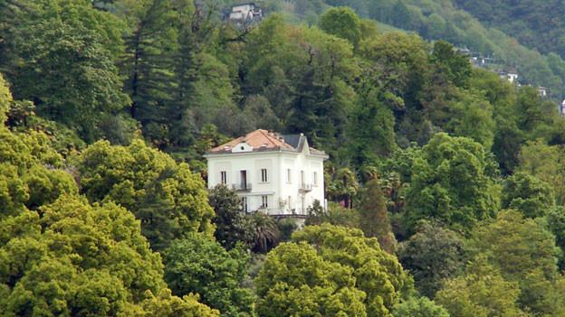 Die Villa Baronata in Minusio war Treffpunkt für Revolutionäre, Anarchisten und Abenteurer.